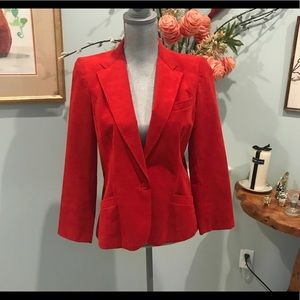 Red Ultra Suede Jacket